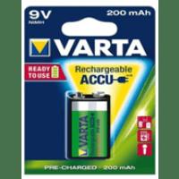 Pilha Varta ACCU Power 9V HR6F22 NIMH 200mAh