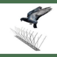 Sistema Anti-pombo inox 100cm