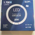 Lâmpada circular LED 20W 31188